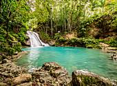 Blue Hole near Ocho Rios, Saint Ann Parish, Jamaica, West Indies, Caribbean, Central America