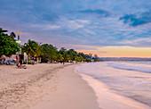 Seven Mile Beach, Long Bay, Negril, Westmoreland Parish, Jamaica, West Indies, Caribbean, Central America