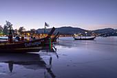 Kata Beach at dawn, Phuket, Thailand, Southeast Asia, Asia