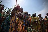 Twin ritual in Cameroon, Africa
