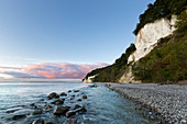 Chalk cliffs, chalk coast, Jasmund National Park, Rügen, Baltic Sea, Mecklenburg-Western Pomerania, Germany