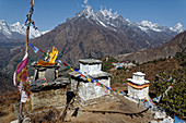 View of the Tengboche monastery in Upper Solo Khumbu, Nepal, Himalayas, Asia.