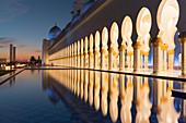 Sheikh Zayed Grand Mosque, Abu Dhabi, Vereinigte Arabische Emirate