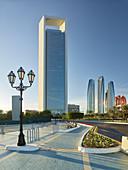 Abu Dhabi National Oil Company (ADNOC) Tower, Etihad Towers, Abu Dhabi, United Arab Emirates