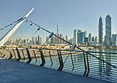 Dubai Creek, Burj Khalifa, Emirates Park Towers, Dubai, United Arab Emirates