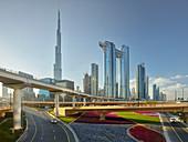 Burj Khalifa, Address Sky View Hotel, Dubai, United Arab Emirates