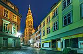 City Church St. Moriz in Coburg, Upper Franconia, Bavaria, Germany