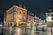 Albertsplatz in Coburg, Oberfranken, Bayern, Deutschland