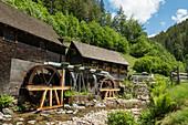 Hexenlochmühle, bei St Märgen, Schwarzwald, Baden-Württemberg, Deutschland