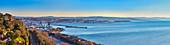 Old port, panorama, Trieste, Friuli-Venezia Giulia, Italy