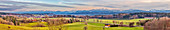 Aschbacherhöhe, mountain, Alps, Alpine foreland, panorama, Feldkirchen-Westerham, Bavaria, Germany