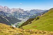 From Fürenalp towards Engelberg, Stäuber, Switzerland