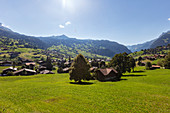 View from Grindelwald in western direction, Bernese Oberland, Switzerland