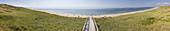 Beach, panorama, Rantum, Sylt, Germany