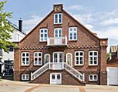 City villa, Wyk, Föhr, Scheswig-Holstein, Germany