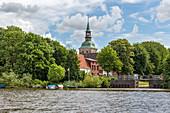 St. Christopherus-Kirche, Friedrichstadt, Schleswig-Holstein, Deutschland