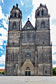 The Magdeburg Cathedral in Magdeburg, Saxony-Anhalt, Germany