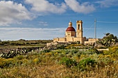 Small church on the south coast of Malta, Mediterranean, Europe