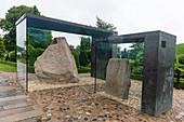 Carved Runestones, UNESCO World Heritage Site, Jelling Stones, Jelling, Denmark, Scandinavia, Europe
