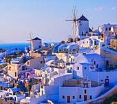 Oia village, Oia, Santorini, Cyclades Islands, Greek Islands, Greece, Europe