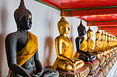 Wat Pho (Temple of the Reclining Buddha), Bangkok, Thailand, Southeast Asia, Asia