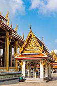 Wat Phra Kaew, The Grand Palace, Bangkok, Thailand, Southeast Asia, Asia