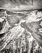 Purcell Mountain Range, British Columbia, Canada