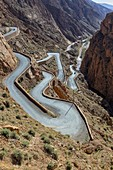 North Africa,Africa,African,Morocco,Dades gorges. Georges Du Dades Roads