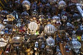 Lanterns, Medina Souk, Marrakech, Morocco.