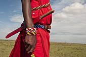 Masai man, Masai Mara, Kenya.