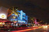 Colony Hotel, Ocean Drive, South Beach, Miami Beach, Florida, USA.