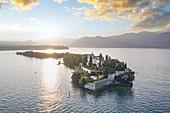 Borghese Island (also known as Garda Island), Salò, Brescia province, Lombardy, Italy