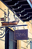 Signboard of bar El Navio Libreria in Havana, Cuba