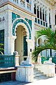 Entrance of Palacio de Valle in Cienfuegos, Cuba