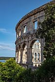 Römisches Amphitheater Pula Arena, Pula, Istrien, Kroatien, Europa