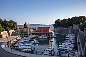 Fishing boats in the Fosa Marina, Zadar, Zadar, Croatia, Europe