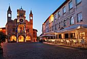 The medieval town hall of Pordenone in the Friuli Venezia Giulia Region is the symbol of the city. Italy