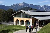 Dokumentationszentrum Obersalzberg, Berchtesgaden, Berchtesgadener Land, Oberbayern, Bayern, Deutschland