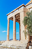 Erechtheion Temple, Acropolis, Athens, Greece, Europe,
