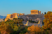 Acropolis of Athens, Athens, Greece, Europe,