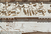 Parthenon freize, Acropolis, Athens, Greece