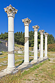 Temple of Apollo, Asklepion, Kos, Dodecanese Islands, Greece, Europe