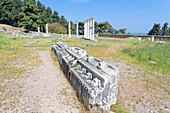 Asklepion ruins, Kos, Dodecanese Islands, Greece, Europe