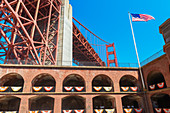 Fort Point, San Francisco, California, USA