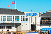 Pier 39, Fisherman's Wharf, San Francisco, California, USA