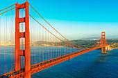 View of Golden Gate Bridge, San Francisco, California, USA