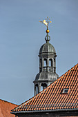 Tower with horse weather vane in Lüneburg, Germany