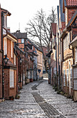 View of the old town of Lueneburg, Germany