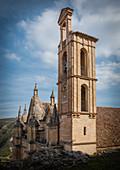 View of the the Santa María la Mayor church in Antequera, Spain