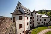 Mildenburg Castle with museum, Miltenberg, Spessart-Mainland, Franconia, Bavaria, Germany, Europe